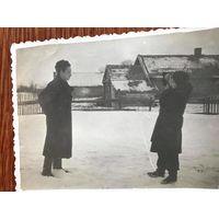 Фото с фотографом, Западная Беларусь, 1950-е, быт