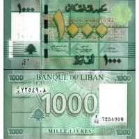 Ливан  1000 ливров  (2008-2016 гг.)  UNC