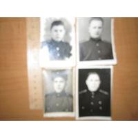 Сборный лот, фото солдат