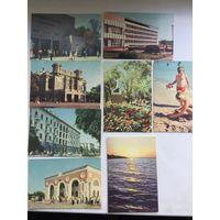 Набор открыток Евпатория (8 штук) 1967 год