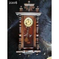 Антикварные Настенные Часы с Боем JUNGHANS Germany