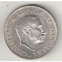 Дания 2 крона 1937 25 лет правления