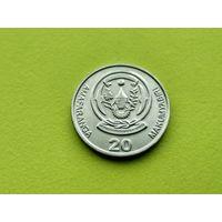 Руанда. 20 франков 2003.