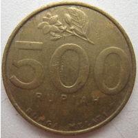 Индонезия 500 рупий 2000 г. (g)