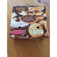 Вкусный набор свечей Ароматических. Красивый набор, можно на подарок, очень приятный сладкий аромат Размер упаковки 14 на 14 на 6,5 см. В упаковке 4 свечи. Индия.