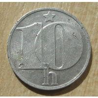 Чехословакия 10 геллеров 1978 год