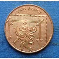 Великобритания 2 пенса 2008