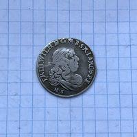 Монета 6 грошей 1680 г. Фридрих Вильгельм (Пруссия)
