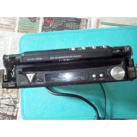 DVD ресивер  KENWOOD -kvt 725dvd порван шлейф монитор целый под ремонт или на запчасти