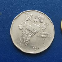 2 рупии 1994 Индия