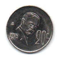 МЕКСИКАНСКИЕ СОЕДИНЁННЫЕ ШТАТЫ. 20 ЦЕНТАВО 1976