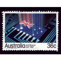 1 марка 1987 год Австралия 1013