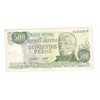 500 песос Аргентины