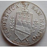 25. Сан-Марино 5 евро 2004 год, серебро*