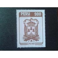 Перу 1986 герб города Пуно