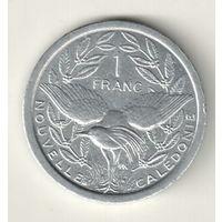 Новая Каледония 1 франк 1996
