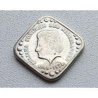 Нидерланды 5 центов, 1978 30 лет правления Королевы Юлианы 8-2-26