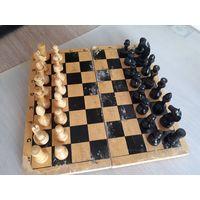 Советские шахматы, дерево.