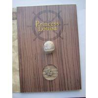 Серебряная монета и пуля с затонувшего корабля Принцесса Луиза . Б45