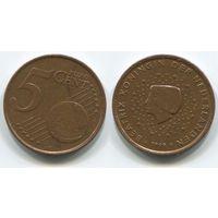 Нидерланды. 5 евроцентов (1999)