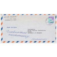 Конверт прошедший почту из Японии в Беларусь