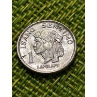 Филиппины 1 цент 1974 года