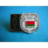 Знак Олимпийского комитета Беларуси Атланта 1996 г.