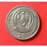Руанда, 20 франков 2003г.
