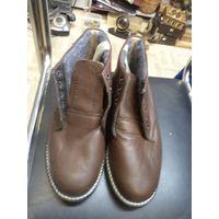Ботинки советские, кожа. Размер 40,5.