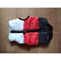 Водонепроницаемая куртка-жилет, утепленная, для собак