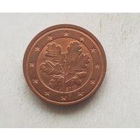 2 евроцента 2009 Германия J