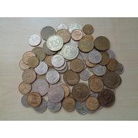 Лот монет России (79 штук, 1991-2009 гг.).