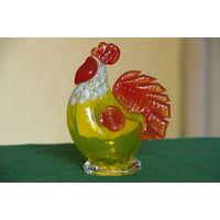 Статуэтка  Петушок  цветное стекло  13 см