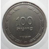 """Израиль 100 прут 1955 """"Финиковая пальма"""" KM# 14"""