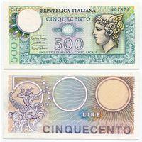 Италия. 500 лир (образца 1974 года, P94, XF)