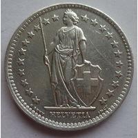 Швейцария 1 франк 1989