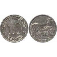 Германия 10 Пфеннигов 1919 год  Трир. Нотгельд.