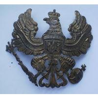 Оригинальный орёл с пикенхельма ПМВ.