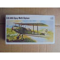 Модель самолета D.H.60G Gipsy Moth Biplane 1/72