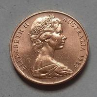 2 цента, Австралия 1983 г.
