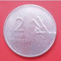 64-17 Индия, 2 рупии 2009 г.