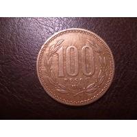 Чили 100 песо 1994 года.