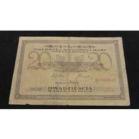 20 марок Костюшко Польша 1919 год
