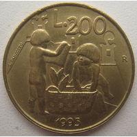Сан-Марино 200 лир 1995 г.