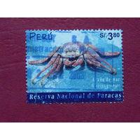 Перу 2001г. Краб.