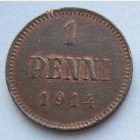 Русско-финские 1 пенни 1914