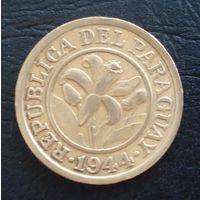 Парагвай 10 сентимос 1944 года