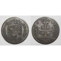 Швейцария (кантон Невшатель) Kreuzer 1791