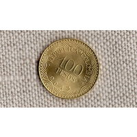 Колумбия 100 песо 2013 /флора/(JN)