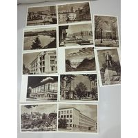 Открытки Литва Вильнюс Клайпеда друсгеники 1956-57